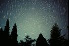北極星と星の周極運動
